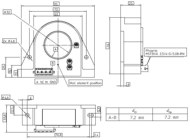 dra DHR - ترنسدیوسر جریان LEM DHR 1000-C10