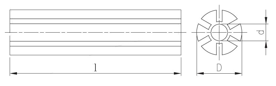 dra KRSH - ذغال جوش شیاردار سوراخدار 10×5 کاشکه