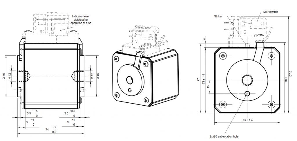 dra PC73UD10C1000TF 1024x486 - فیوز پیچ خور (مربعی) فراز PC73UD10C1000TF