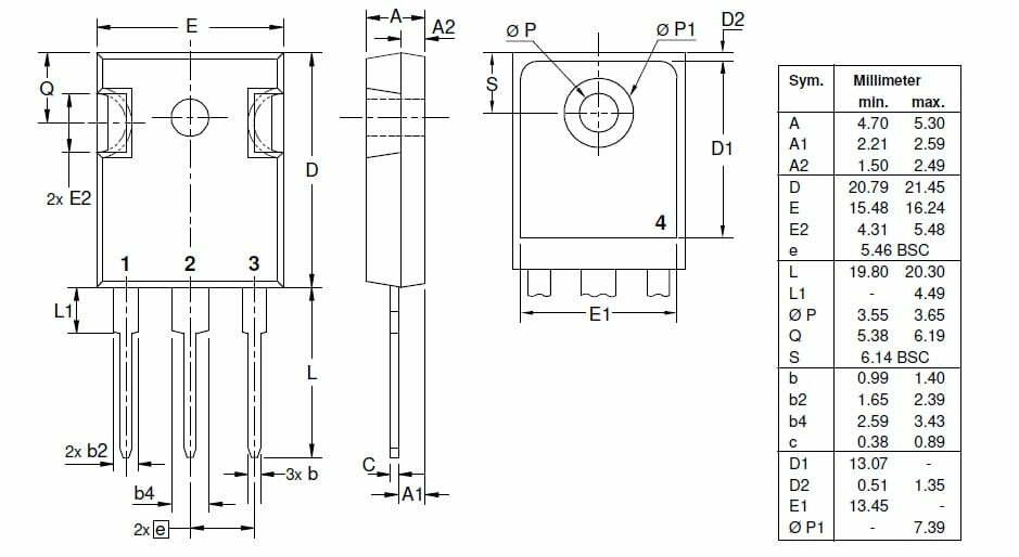 dra CMA80 - تریستور روبردی IXYS CMA80E