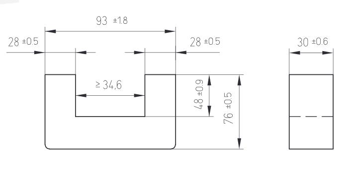drawing U93.30.76 - فریت کاشکه U93.30.76
